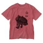 えひと屋のラクガキTシャツ Washed T-shirts