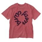 BUMP FARMのcircle wine Washed T-shirts