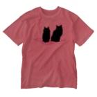SAIWAI DESIGN STOREのMagic Carpet Ride(pink) Washed T-shirts