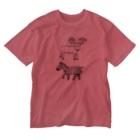霜田あゆ美shopのシマジカくん Washed T-shirts