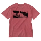 akane_artのモノクロチワワ(アンニュイ2) Washed T-shirts