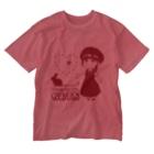 ふわりおんぷふぁーむのかおふあ Washed T-shirts