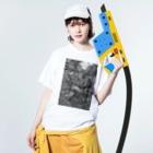 イトスク の鎌倉ワールド Washed T-shirtsの着用イメージ(表面)