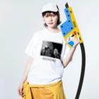 shen_ruixiのpanorama / genome Washed T-shirtsの着用イメージ(表面)