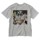 kaeruco(* 皿 *)のStay 段ボールhome Washed T-shirts