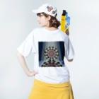 ひとつのイベリス Washed T-shirtsの着用イメージ(裏面)