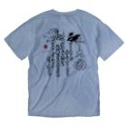 推 愛 OShiROの日本代表 エース魂 師弟コンビVer. Washed T-shirtsの裏面