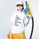 TATEYAMAのLa valeur n'attend pas le nombre des années Washed T-shirtsの着用イメージ(表面)
