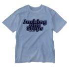 HOUSE DANCE MANIAのJacking and Steps パープル Washed T-shirts