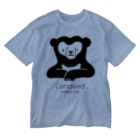 Candeed Creativeのマレーグマ(ロゴあり) Washed T-shirts
