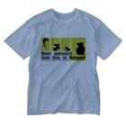 奄美の生き物応援隊のfrom AMAMI Washed T-shirts
