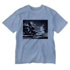 そらいろもようの灰色の世界Ⅷ Washed T-shirts