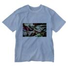 Exit153のベルベットリーフレタス Washed T-shirts