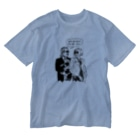 Hitoshi KurokiのLet's talk about the cats Washed T-shirts