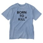 stereovisionのBORN TO KiLL(生来必殺)とピースマーク Washed T-shirts