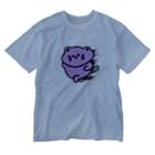 chiffonsanの爆速にゃんこ Washed T-shirts