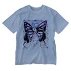mayuri.M+aのmayuri.M+aバタフライTシャツ Washed T-shirts