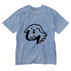 uncle momoの【uncle momo】ロゴ Washed T-Shirt