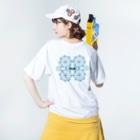 I*Ly / アイリィのG・Tと渦 Washed T-shirtsの着用イメージ(裏面)