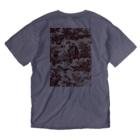 J. Jeffery Print Galleryのトワルドジュイ Toile de Jouy Washed T-shirtsの裏面