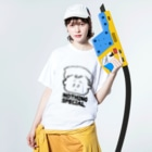egu shopのNothing special. Washed T-shirtsの着用イメージ(表面)