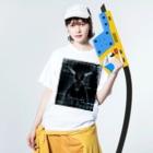 Re:Morayのボーン Washed T-shirtsの着用イメージ(表面)