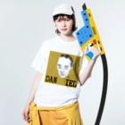 ハオ・シュウライハウスのハオ・シュウライ Washed T-shirtsの着用イメージ(表面)