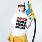 DIALAND LOVERSのNO MOER MEGA SOLOR Washed T-shirtsの着用イメージ(表面)