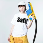 MacciのSafi! Washed T-shirtsの着用イメージ(表面)