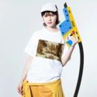 J. Jeffery Print Galleryのトワルドジュイ Toile de Jouy Washed T-shirtsの着用イメージ(表面)