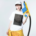 s_take04のハンガー Washed T-shirtsの着用イメージ(表面)