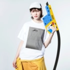 goodneckのleader and  brothers Washed T-shirtsの着用イメージ(表面)