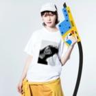 chisatoptrの千聖chisato Washed T-shirtsの着用イメージ(表面)