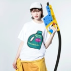 NaMoの洗濯2 Washed T-shirtsの着用イメージ(表面)