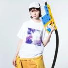 こっこさんのCOCCO・C5 Washed T-shirtsの着用イメージ(表面)