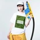 zikomanking SHOPのGREEN PLANT Washed T-shirtsの着用イメージ(表面)