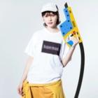 QB🦖のSPM_dp Washed T-shirtsの着用イメージ(表面)