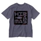 ヒラマサのヒラマサイケ Washed T-shirts