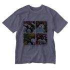 いぬけんやさんの夏の思い出 Washed T-shirts