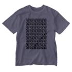 アオフジマキのモダンパターン Washed T-shirts