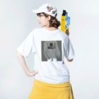 𓃹 𝓟𝔂𝓸𝓶 𓃹   (  ぴょん  )のprayer Washed T-shirtsの着用イメージ(裏面)