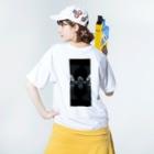 RMk→D (アールエムケード)のカタコンベ Washed T-shirtsの着用イメージ(裏面)