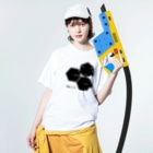 CELL PRIMEのCELLPRIME3 Washed T-shirtsの着用イメージ(表面)