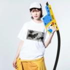 CTRL shopのsuiboku Washed T-shirtsの着用イメージ(表面)