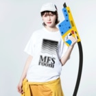 MFSのMFS room trim5(黒) Washed T-shirtsの着用イメージ(表面)