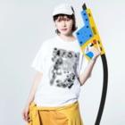 限界破裂 ExplosionLimitのMUSE Washed T-shirtsの着用イメージ(表面)