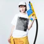 M.Miraのbyラスキン Washed T-shirtsの着用イメージ(表面)
