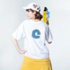 超水道の超水道シンロゴ Washed T-shirts