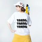 teensの teens Washed T-shirtsの着用イメージ(裏面)