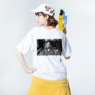 gensitiのスマイル。 Washed T-shirtsの着用イメージ(裏面)
